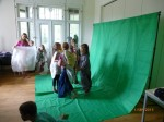 Greenscreen Sabine Schreier-Workshop